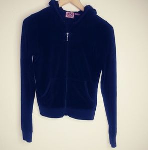 Juicy couture black hoodie size small